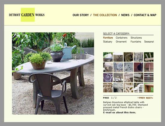 Detroit Garden Works Website
