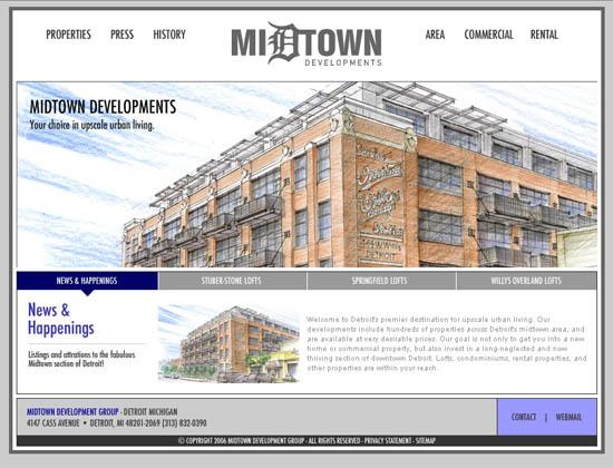 Midtown Developments Website