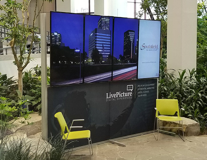 Digital Trade Show Display