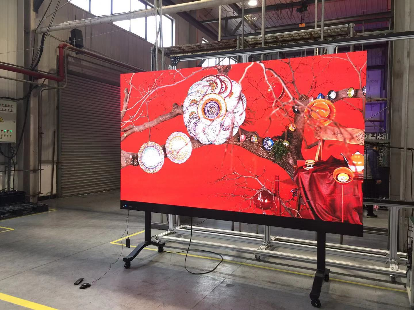 Seamless LED Trade Show Display